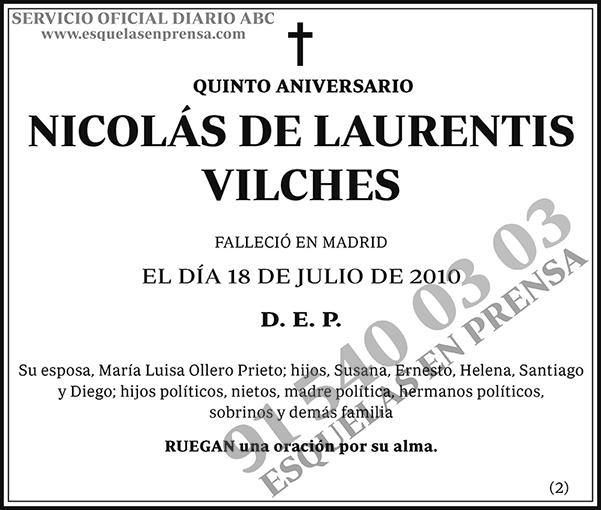 Nicolás de Laurentis Vilches